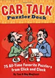 img - for Car Talk Puzzler Deck: 75 All-time Favorite Puzzlers from Click and Clack book / textbook / text book