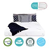 8'' inch COOL & GEL Memory Foam Mattress - Triple-Layered - Certipur-US Certified - Medium Firm - 20-Year Warranty - Full - with FREE PILLOW