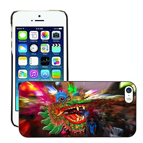 Premio Sottile Slim Cassa Custodia Case Cover Shell // V00001623 bangkok Dragon // Apple iPhone 5 5S 5G