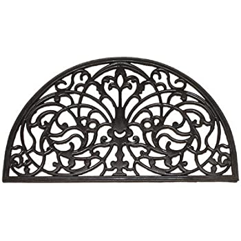 Amazon Com Entryways Half Round Recycled Rubber And