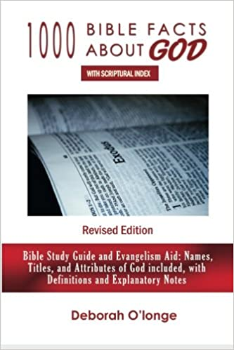 1000 Bible Facts About God (Revised Edition): With Scriptural Index