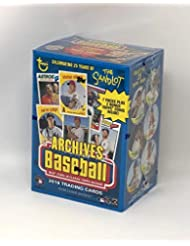Topps 2018 Archives Baseball Blaster Box (8 Packs/8 Cards, 2 Coin Inserts)