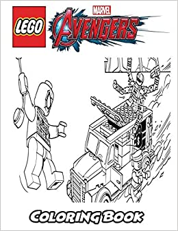 Amazon.com: Lego Marvel Avengers Coloring Book: Coloring ...