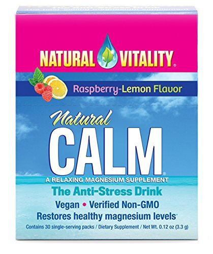 Natural Vitality Stress Raspberry flavor product image