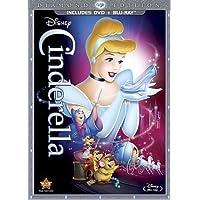 Cinderella: Diamond Edition (DVD Combo Pack) [Blu-ray + DVD]