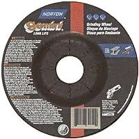Norton Gemini Depressed Center Abrasive Wheel, Type 27, Aluminum Oxide