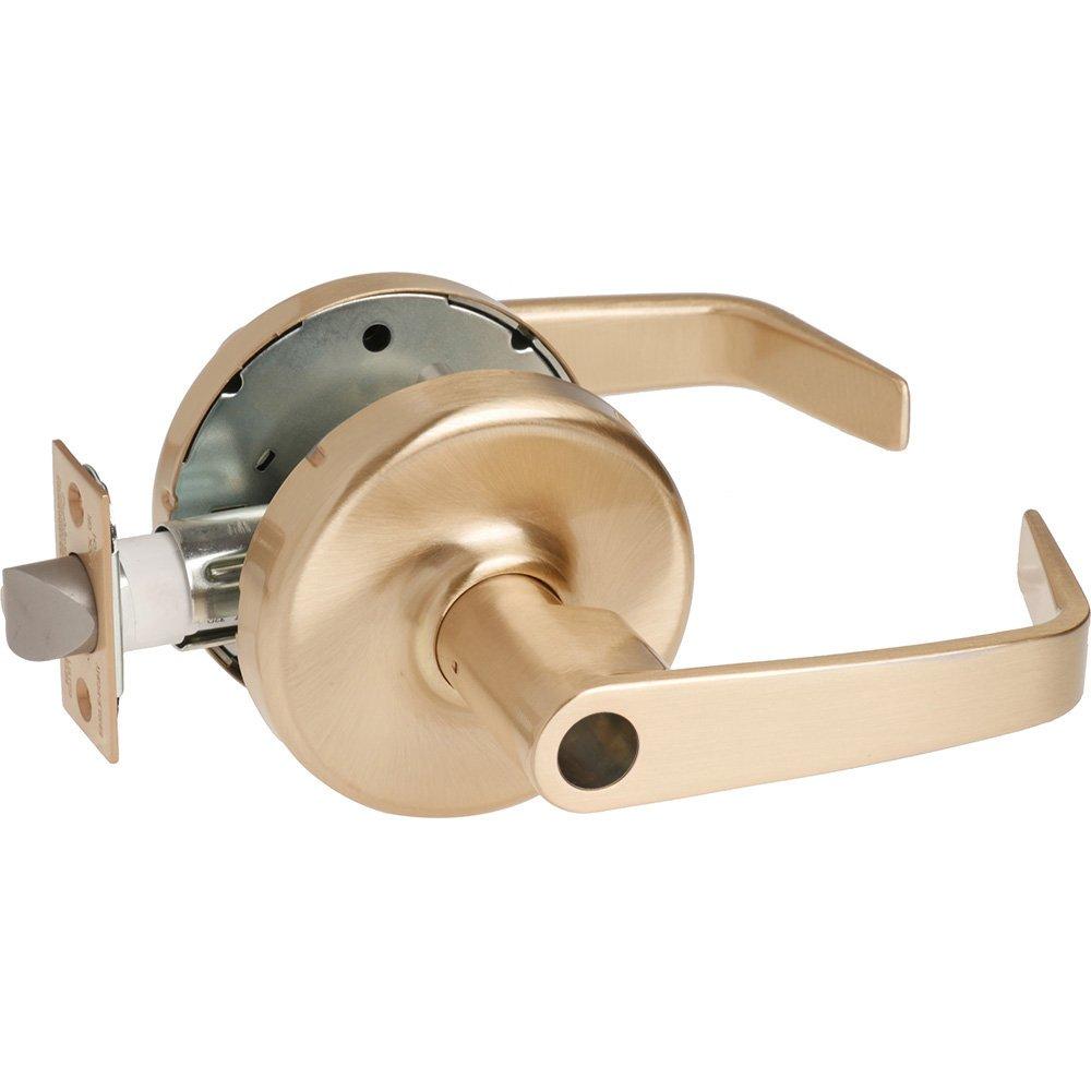 Non Handed Steel//Zinc//Bronze 2-3//4 Backset 612 2-3//4 Backset Corbin Russwin CL3855-NZD-612-LC Grade 2 Classroom Satin