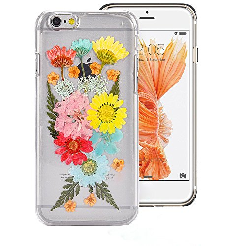 625 Mint - Case for Iphone 6S,Fifine Iphone 6s case ,Real Pressed Flowers Phone Case for Iphone 6/6S 4.7