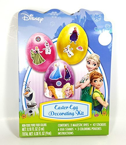 Disney Frozen Easter Egg Decorating Kit. Comes with