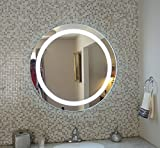 Wall Mounted Lighted Vanity Mirror LED MAM1D36 Commercial Grade 36'' Round LED