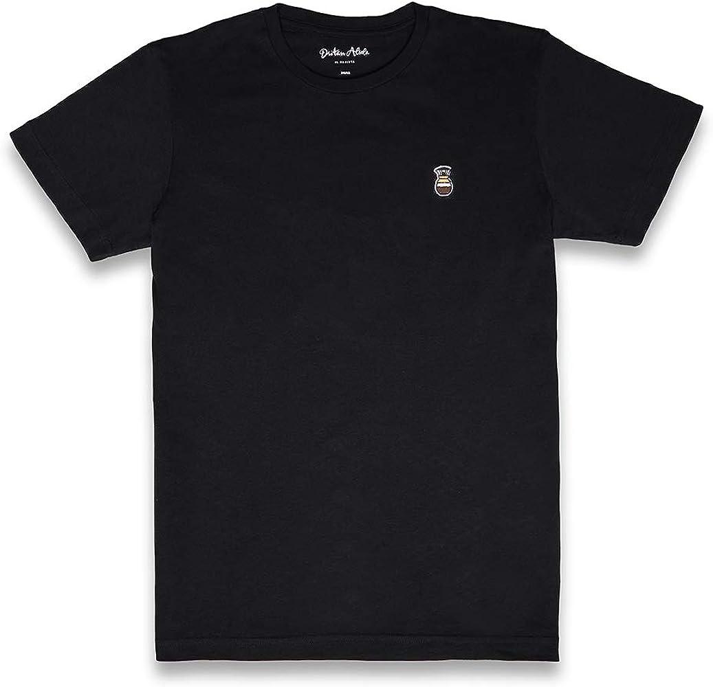 Dritan Alsela Chemex Hombre Camiseta Negro (S): Amazon.es: Ropa y accesorios