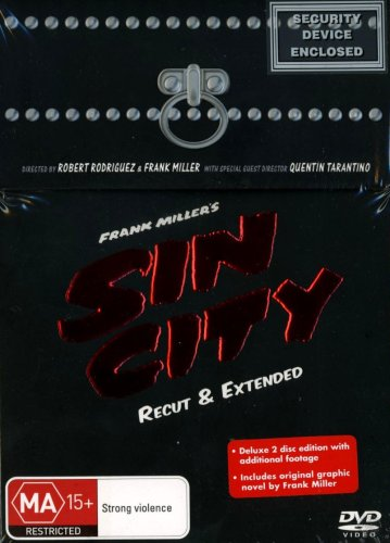 SIN CITY : RECUT & EXTENDED - THE ULTIMATE SIN LIMITED EDITION BOX SET C/WGRAPHIC NOVEL: Amazon.es: Cine y Series TV