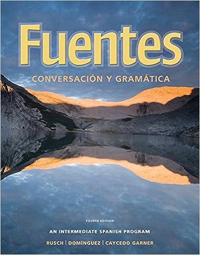Amazon.com: Fuentes: Conversacion y gramatica (9780495909248 ...