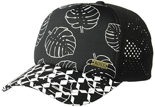 Roxy Women's Waves Machine Trucker Hat, ant Super geo Palms Small, 1SZ