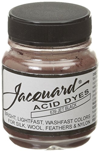 Acid Dyes (Jacquard Acid Dyes 1/2 Ounce-Jet Black)