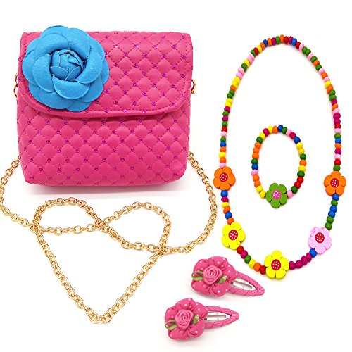 Quilted Fancy Purse Set - 7