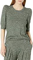 Amazon Brand - Daily Ritual Women's Cozy Knit Puff-Shoulder Top