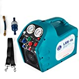 air condition recovery machine - DreamJoy 1/2HP Refrigerant Recovery Machine Portable 110V AC Refrigerant Recycling Machine Automotive HVAC 558psi Refrigerant Recovery Unit Air Conditioning Repair Tool (110V)