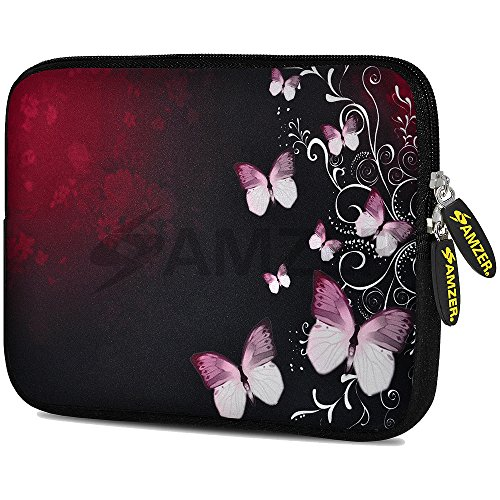 (Amzer 7.75-Inch Designer Neoprene Sleeve Case Pouch for Tablet, eBook, Netbook (AMZ5072077))