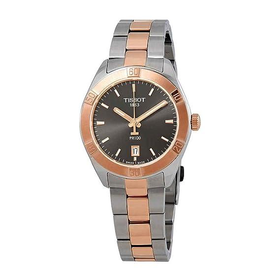 Tissot PR100 SPORT CHIC T101.910.22.061.00 Reloj de Pulsera para mujeres: Amazon.es: Relojes