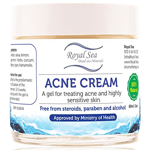Dead Sea Natural Anti Acne Removal Cream  Treatment for Pimp