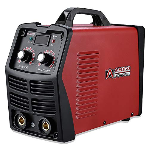 MMA-200, 200 Amp Stick Arc DC Welder, IGBT Digital Inverter 110V & 230V Welding Machine. (Generator Welder Dc)