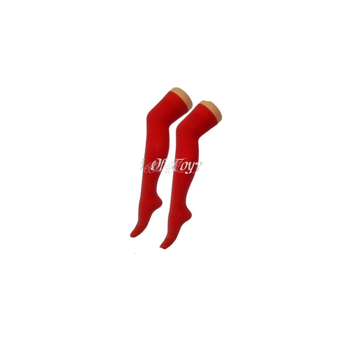 Girls Teens Ladies Neon Plain Socks In 8 Vibrant Colours Over The Knee Socks / Knee High 5Q-4F87-2Y6J