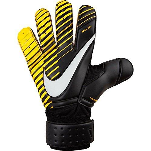 Nike GK Premier SGT Soccer Goalkeeper Gloves (Sz. 8) Black, Laser Orange