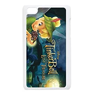 iPod Touch 4 Case White Tinker Bell and the Lost Treasure Character Blaze Phone Case Cover Unique Design XPDSUNTR31648