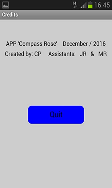 Amazon com: Compass Rose: Appstore for Android
