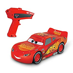 Cars Crazy Crash & Smash Lightning McQueen RC Car