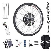 Pinty 48V 1000W 26'' Electronic Bike Conversion Kit Hub Motor (Front Wheel)