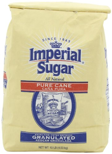 Extra Fine Sugar - Imperial Extra Fine Granulated Sugar, 10-Pound
