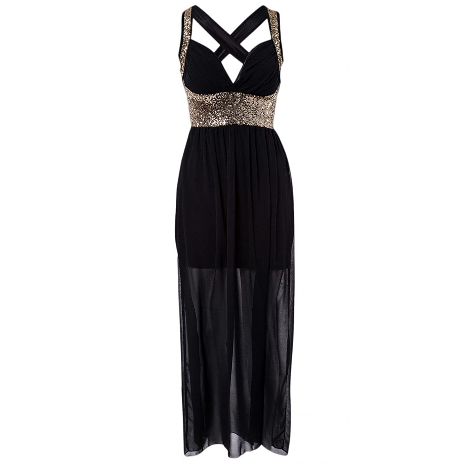 Waooh - Strapless Dress With Sequin Curuid