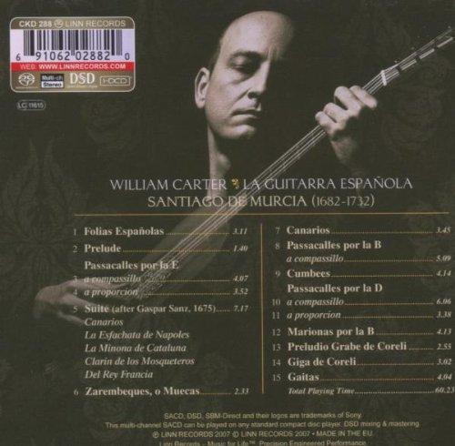 Santiago de Murcia: La Guitarra Española