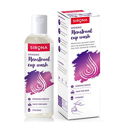 Sirona Menstrual Cup Wash – 100 ml with Rose Fragrance to Wash your Period Cup in a Hygienic Way