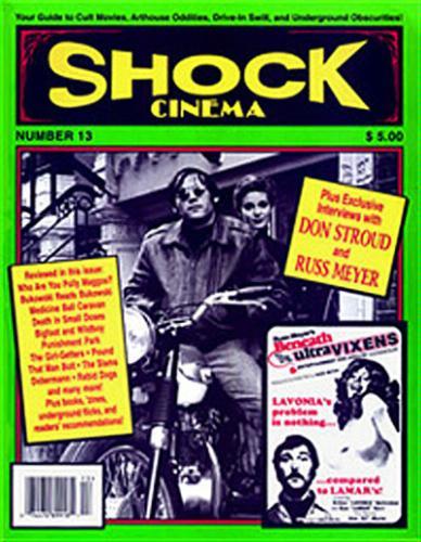 Read Online SHOCK CINEMA Magazine #13 pdf epub