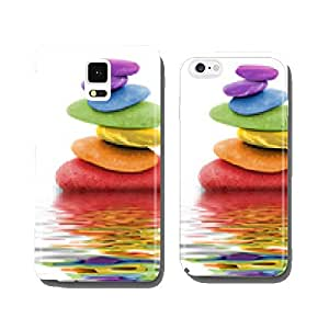 zen rainbow pebbles in water cell phone cover case iPhone6 Plus