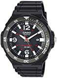 Casio Men's 'Solar Powered' Quartz Resin Automatic Watch, Color:Black (Model: MRWS310H-1BV)