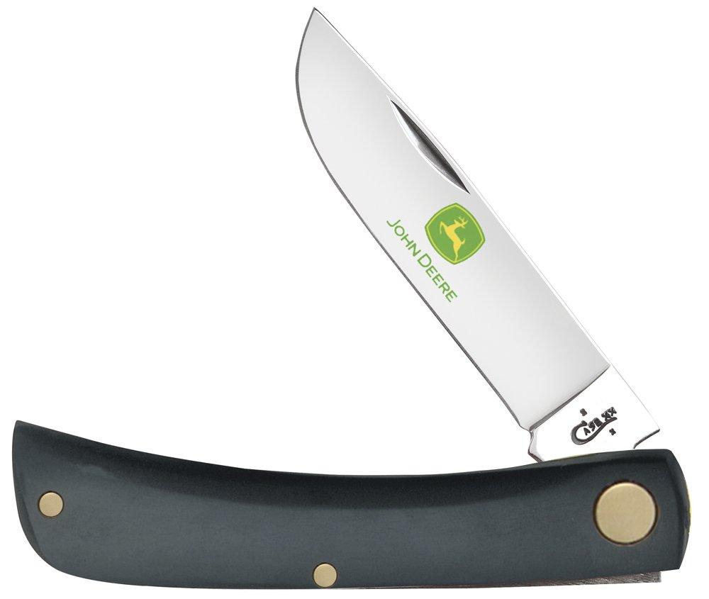 Case Sod Buster Pocket Knives, Black John Deere, Small