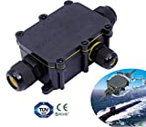 3 Way IP68 Waterproof Electrical Cable Wire Connector Junction Box UK