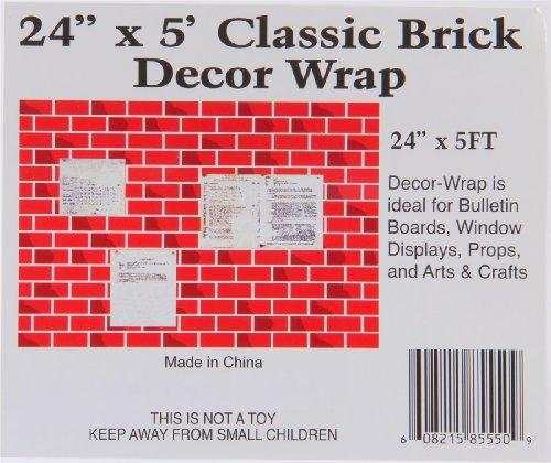 amazon com christmas classic corrugated brick roll wrap chimney rh amazon com