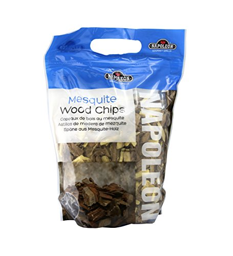 Napoleon 67001 Mesquite Wood Chips, 2-Pound Bag