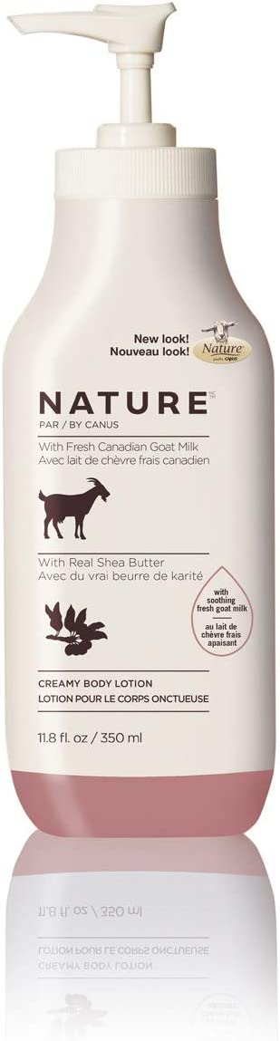 Nature by Canus, Fresh Goat's Milk Moisturizing Lotion, Shea Butter