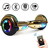 Keepower 6.5' Hoverboard Electric Smart Self Balancing Scooter Hoverboard Built-in LED Wheels Side Lights- UL2272 Certified