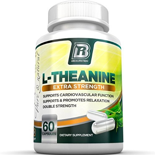 BRI Nutrition 200mg L-Theanine Enhanced with 100 mg of Inositol - 60 Count 200mg L Theanine Veggie Capsules by BRI Nutrition (Image #4)