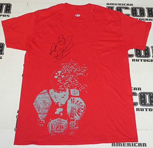 Shane Strickland Signed Shirt BAS Beckett COA Lucha Underground WWE Autograph 83 - Beckett Authentication (Strickland Signed)