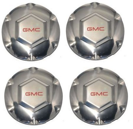 REPLACEMENT PART: 4pcs. 2002 03 04 05 06 07 GMC (Spoke Center Cap)