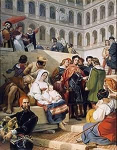 Amazon.com: Raphael At Vatican by Horace Vernet painting