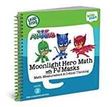 LeapFrog LeapStart Book, Moonlight Hero Math With Pj Masks, Level 2